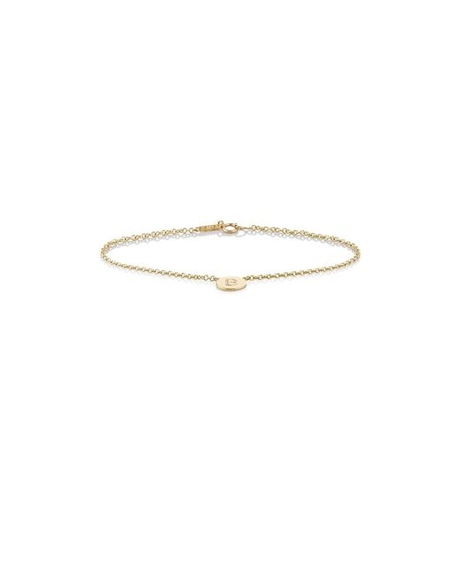 Jennifer Meyer - Multicolor Initial b Disc Bracelet - Lyst
