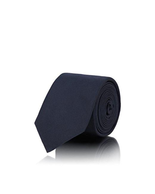 Fendi - Blue Micro-crystal-embellished Silk Faille Necktie for Men - Lyst