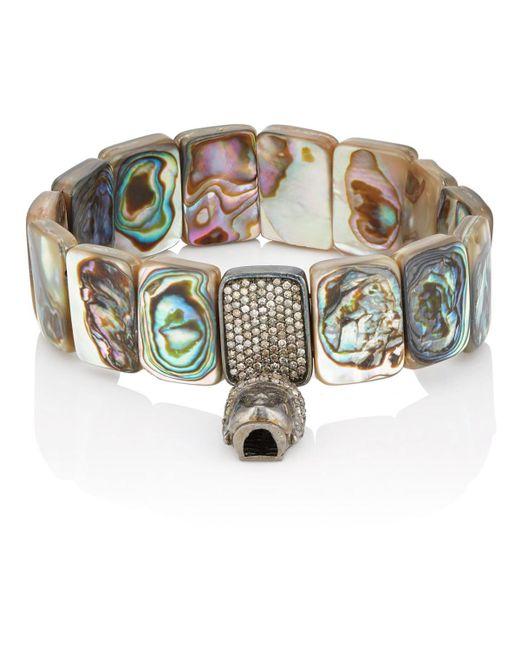 Carole Shashona - Brown Earth Goddess Bracelet - Lyst