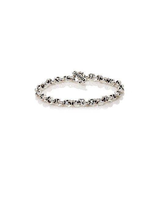 Hoorsenbuhs - Metallic Tri-link Bracelet for Men - Lyst