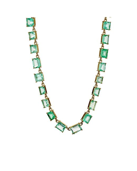 Irene Neuwirth | Multicolor Colombian Emerald Necklace | Lyst