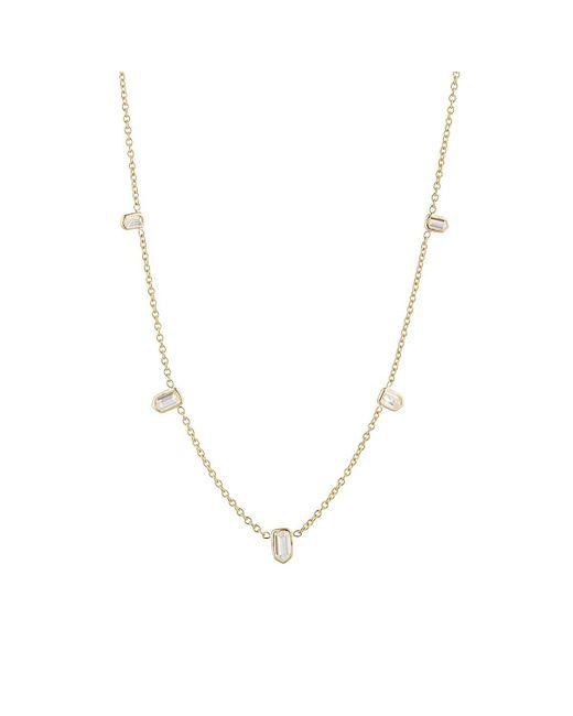 Finn - Yellow Bullet Diamond Necklace - Lyst