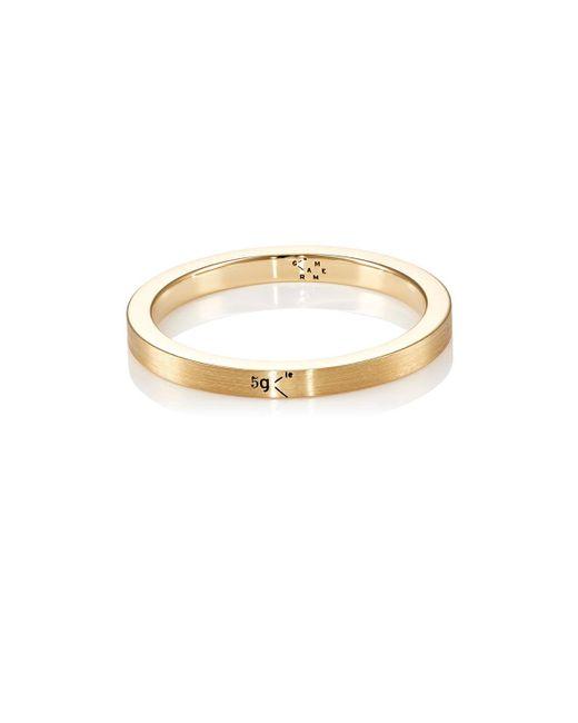 Le Gramme - Metallic Le 5 Ring - Lyst