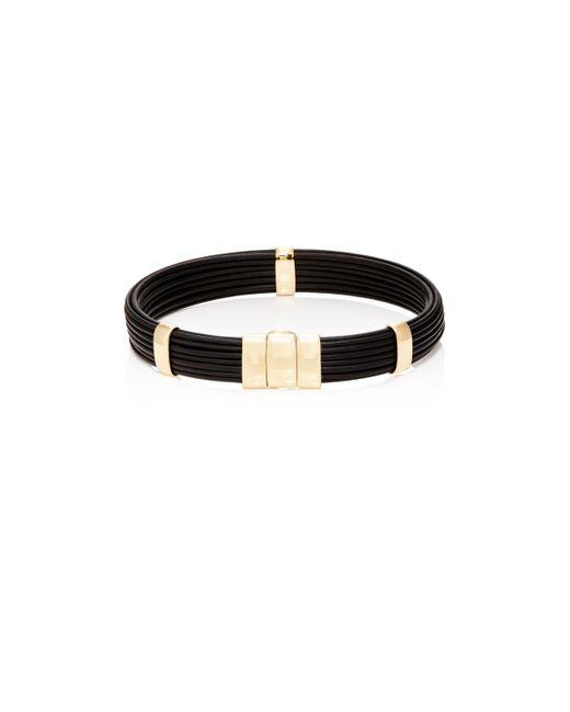 Zadeh - Metallic Brant Bracelet - Lyst