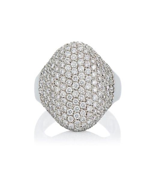 Roberto Marroni - Metallic Pavé Ring - Lyst