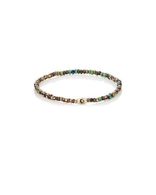 Luis Morais - Metallic Rondelle Bracelet for Men - Lyst