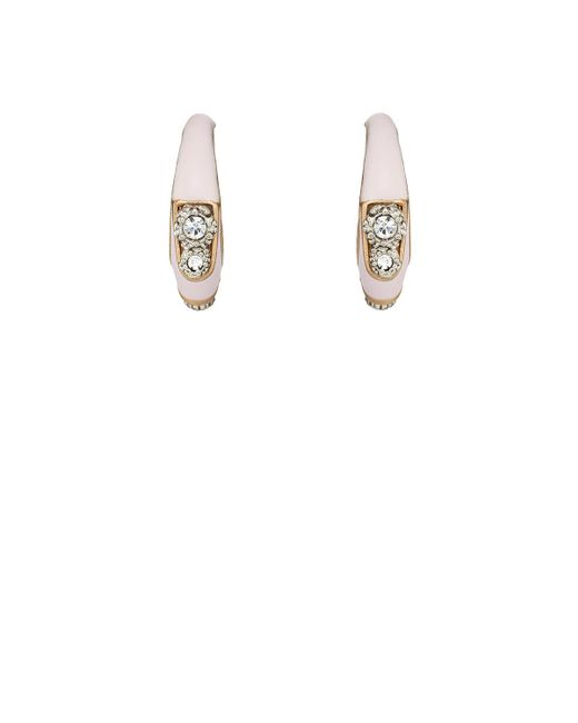 Maison Mayle | Metallic Twin Comet Hoop Earrings | Lyst