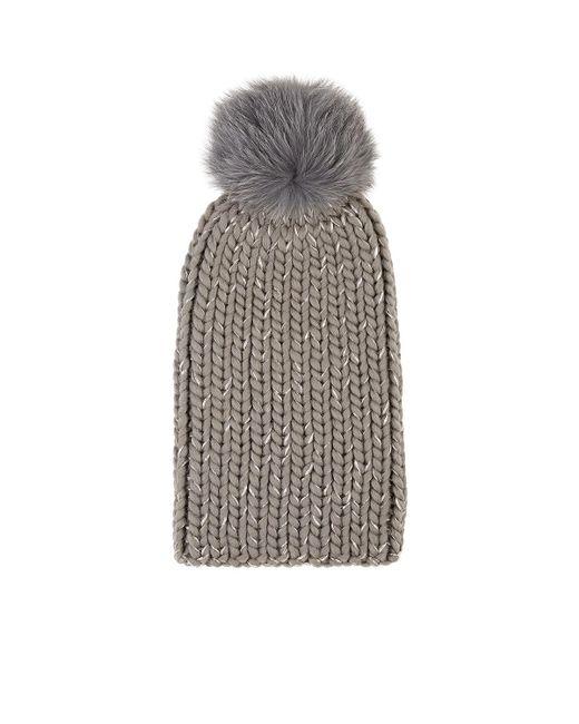 Eugenia Kim - Gray Rain Chunky Rib-knit Wool - Lyst