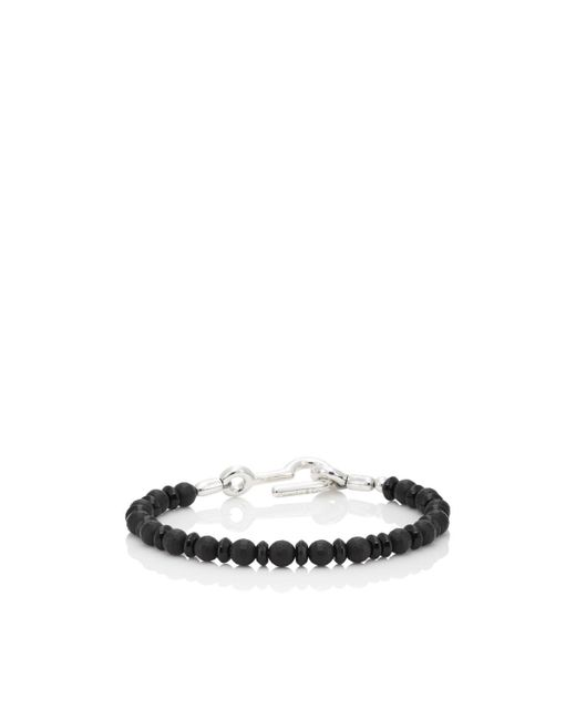 Caputo & Co. - Black Onyx Beaded Bracelet for Men - Lyst