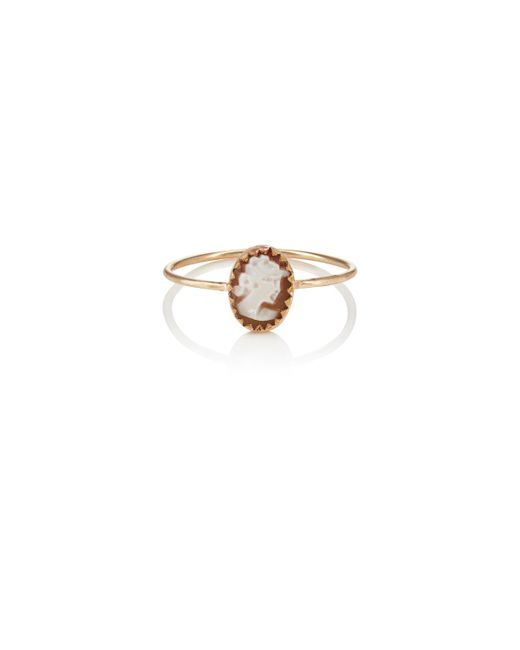 Julie Wolfe | Metallic Cameo Wire Ring | Lyst