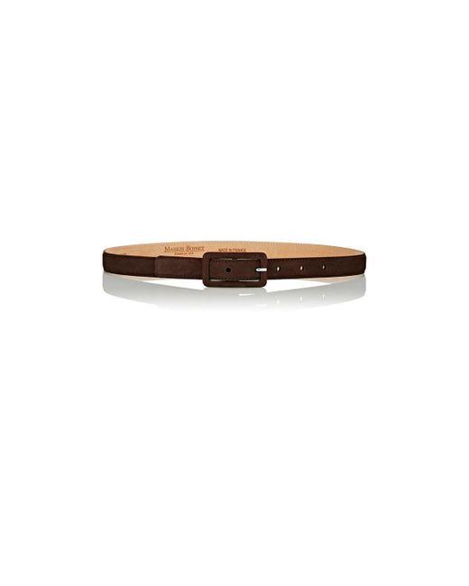 Maison Boinet | Brown Skinny Belt | Lyst