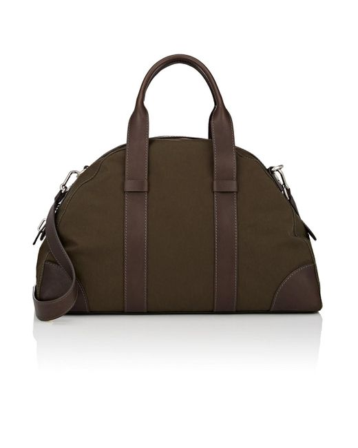Fontana Milano 1915 - Multicolor Small Leather-trimmed Weekender Bag for Men - Lyst