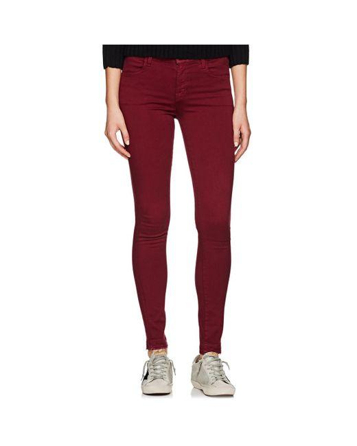 J Brand - Purple 620 Super Skinny Jeans - Lyst