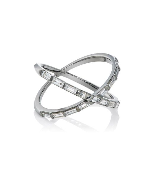Eva Fehren - Metallic Tetra Shorty Ring - Lyst