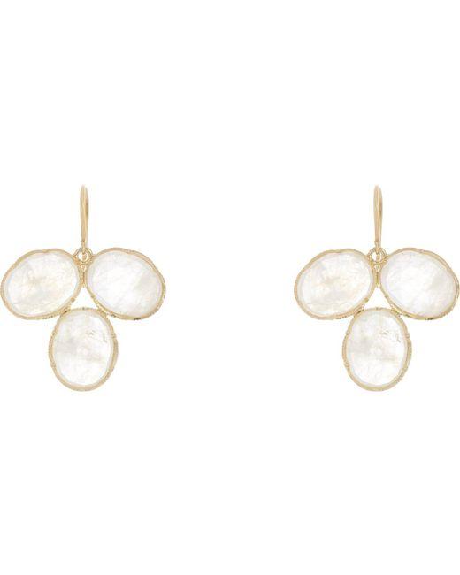 Irene Neuwirth | Metallic Gemstone Drop Earrings | Lyst