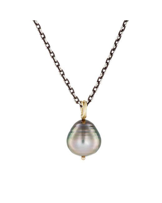 Dean Harris - Gray Baroque Pearl Pendant Necklace - Lyst