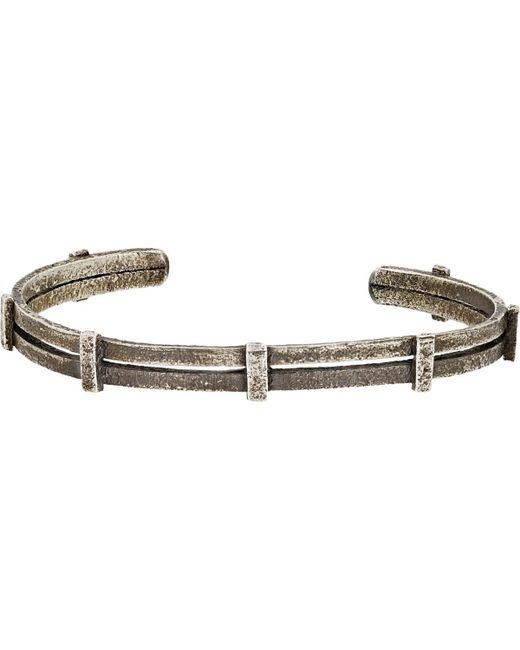 Zadeh - Metallic Ignacio Cuff for Men - Lyst