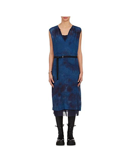 Pas De Calais | Blue Tie-dyed Wool | Lyst