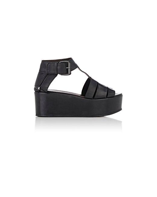 Marsèll | Black Leather T | Lyst
