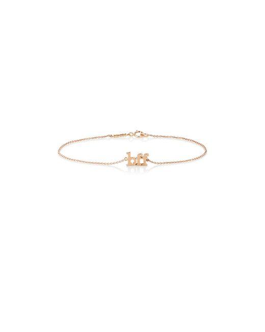 Jennifer Meyer | Metallic bff Charm Bracelet | Lyst