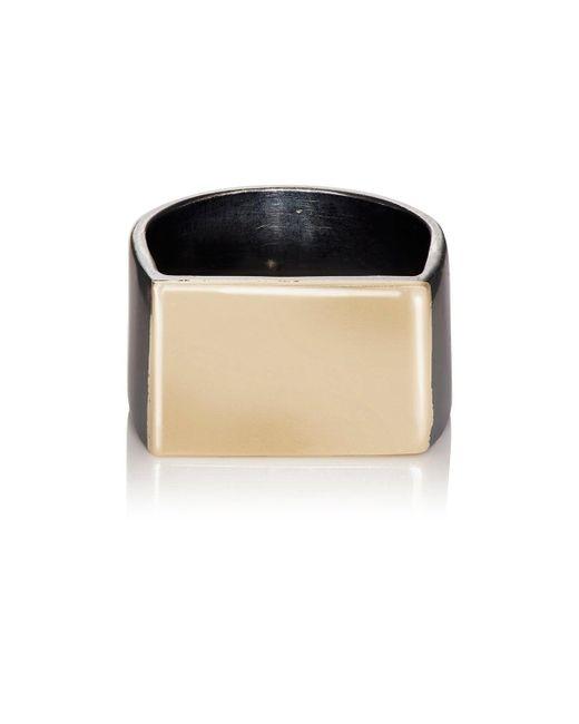 Loren Stewart - Metallic Flat Id Ring for Men - Lyst