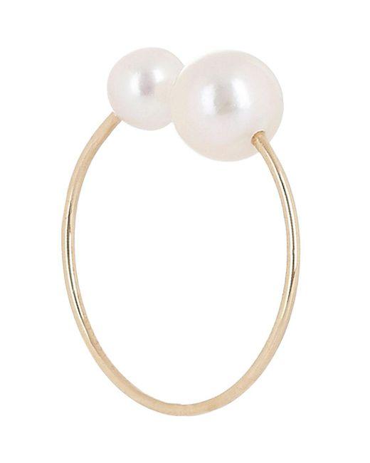 Hirotaka - Metallic Akoya Pearl & Gold Ear Cuff - Lyst