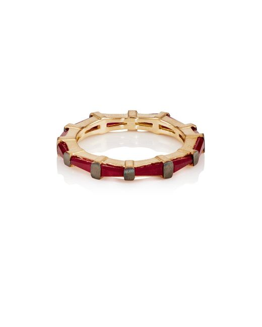 Nak Armstrong | Multicolor Hilvanado Stitch Eternity Band | Lyst