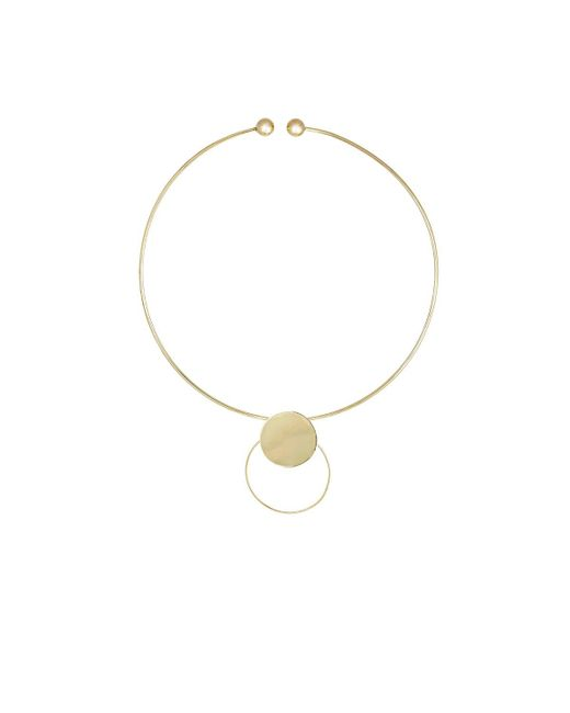 Loren Stewart - Metallic Ellipse Collar - Lyst