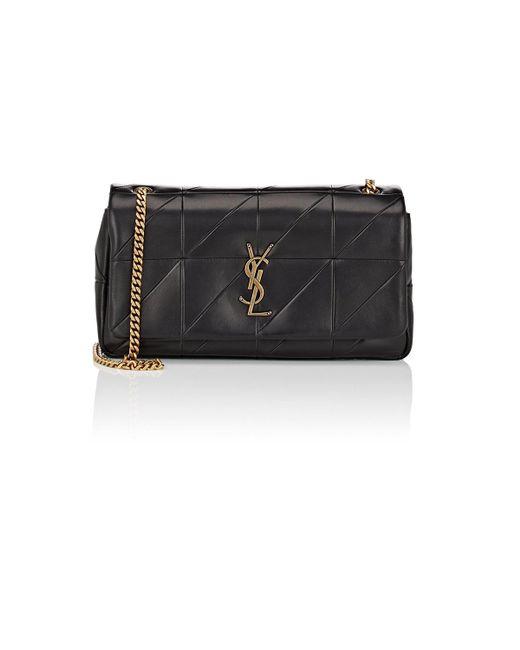 Saint Laurent - Black Jamie Medium Leather Chain Bag - Lyst