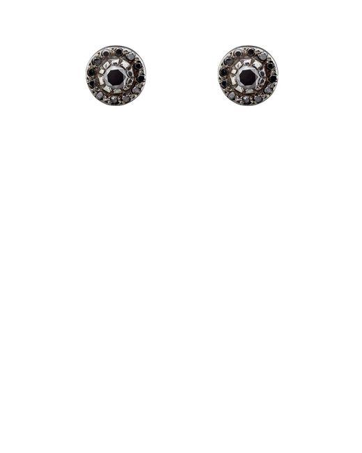 Ileana Makri - Metallic Circular Stud Earrings Size Os - Lyst