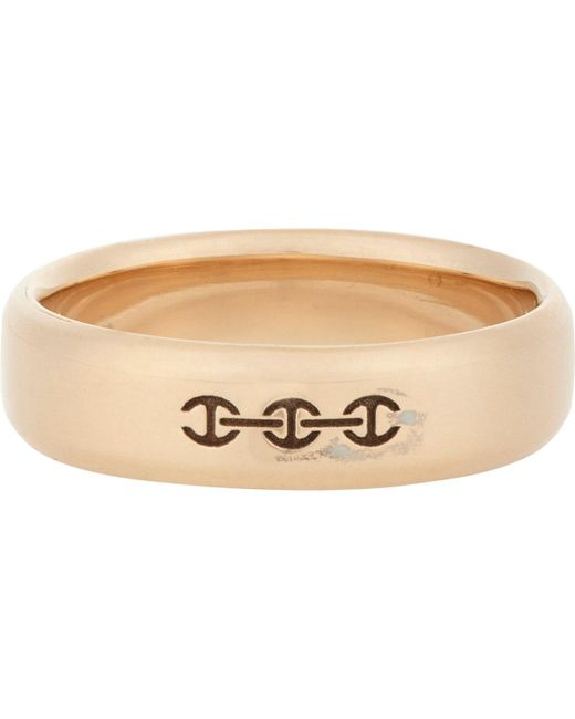 Hoorsenbuhs - Pink Rose Gold Band for Men - Lyst