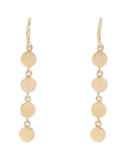Jennifer Meyer | Multicolor Circle Drop Earrings | Lyst