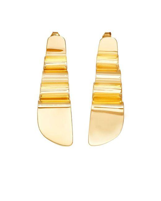 Agmes - Metallic Small Mira Earrings - Lyst