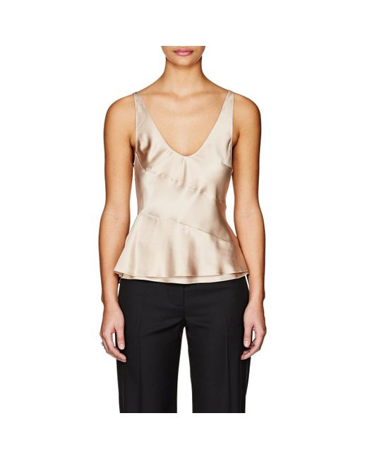 Narciso Rodriguez - Multicolor Silk Charmeuse Evening Top - Lyst