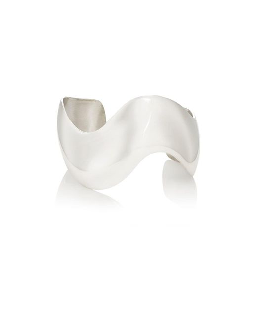 Agmes | Metallic Wave Cuff | Lyst