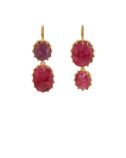 Renee Lewis | Red Mismatched Ruby Double | Lyst