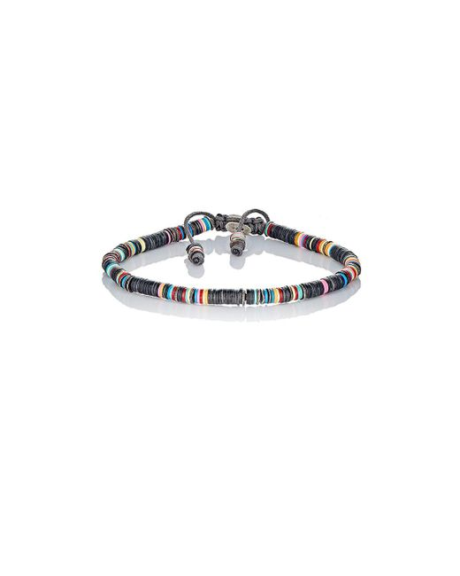M. Cohen - Black Rondelle Bracelet - Lyst