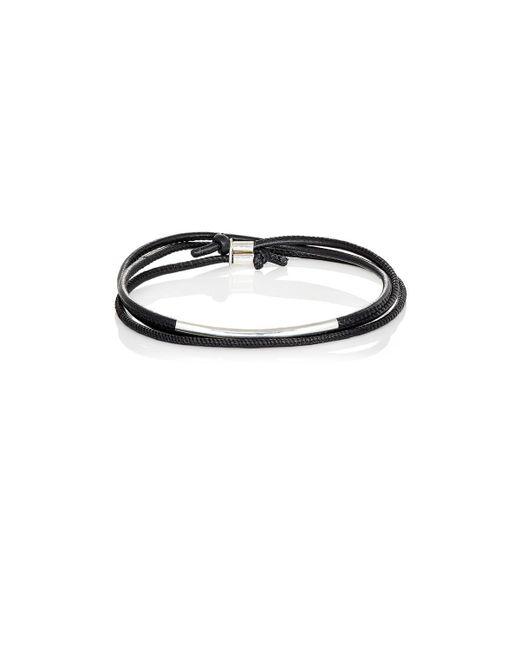 Loren Stewart - Metallic Wrap Bracelet for Men - Lyst