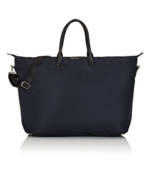 Barneys New York Blue Large Weekender Bag Lyst