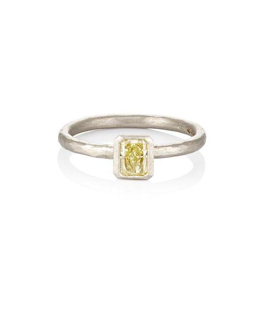 Malcolm Betts - Multicolor Yellow Diamond Ring - Lyst
