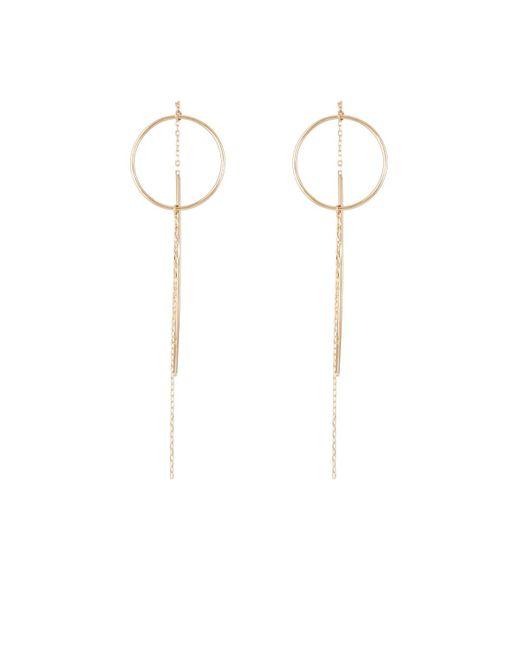 Hirotaka - Metallic Yellow Gold Wire - Lyst