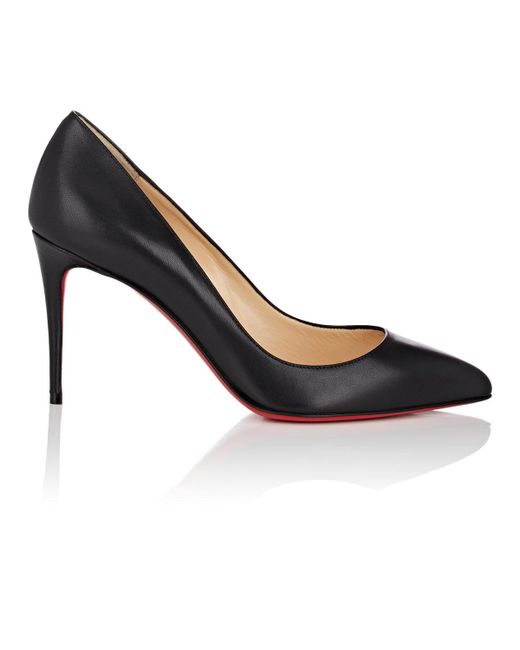 Christian Louboutin - Black Pigalle Follies Leather Pumps - Lyst