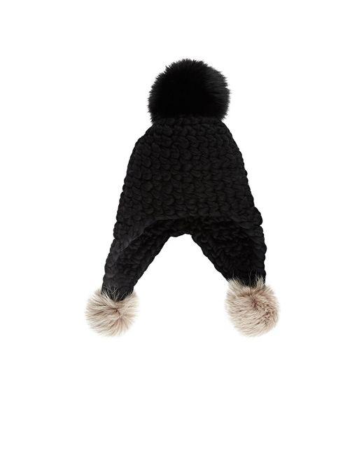 Mischa Lampert - Black Triple Trouble 3 Hat - Lyst