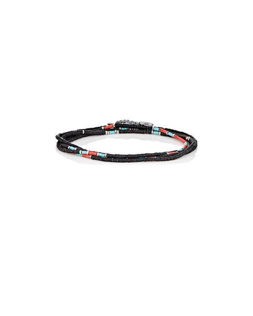 M. Cohen   Black Wrap Bracelet & Beaded Necklace for Men   Lyst