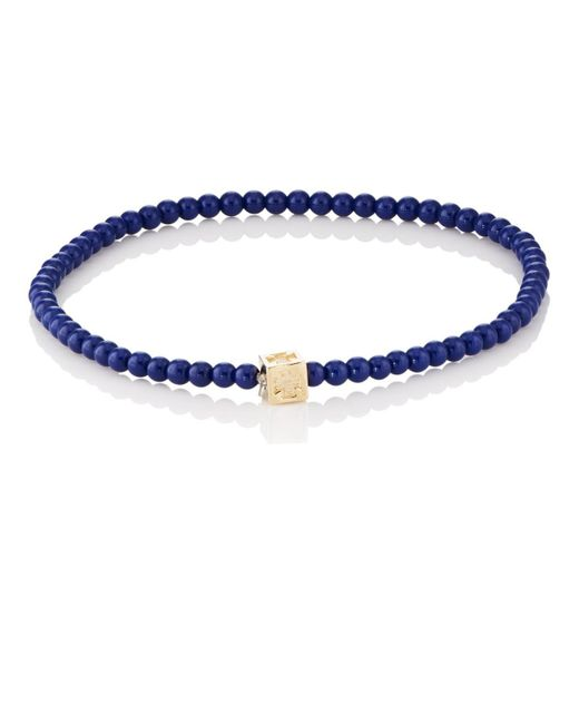 Luis Morais - Blue Beaded Bracelet for Men - Lyst