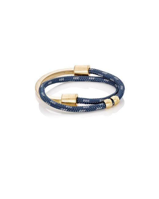 Miansai   Black Modern Half Rope Bracelet   Lyst