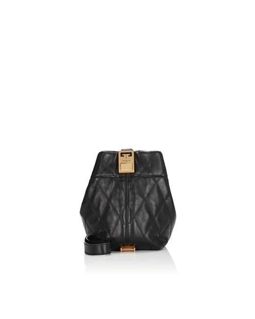 cf04da91e5 Givenchy - Black Gv3 Mini Leather Bucket Bag - Lyst ...
