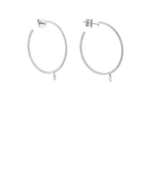 Raphaele Canot - Metallic Créoles Hoop Earrings - Lyst
