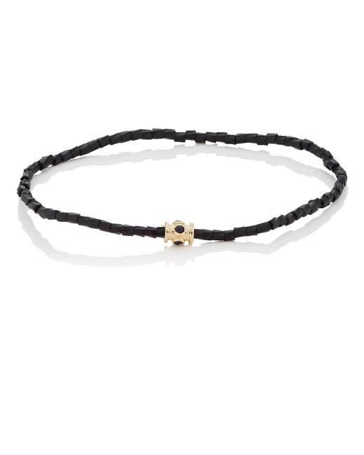 Luis Morais - Black Beaded Bracelet for Men - Lyst