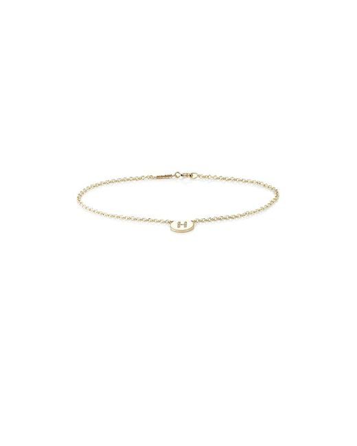 Jennifer Meyer - Multicolor Initial h Disc Bracelet - Lyst